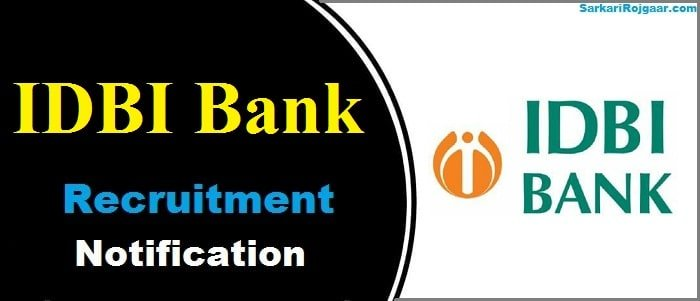 IDBI Bank SO Recruitment 2019